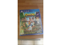 PS4 Crash Bandicoot. Brand new and Sealed.