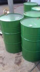 205 Litre oil drums burner incinerator horse jump diesel petrol.