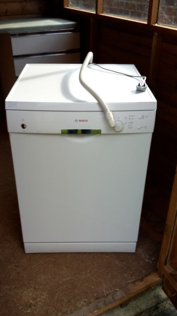Bosch Dishwasher (white, full size, only 18 months old!)
