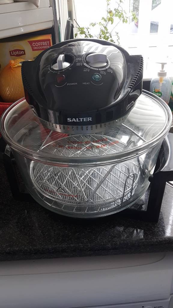 Salter air fryer and halogen oven SOLD SUBJECT TO COLLECTION