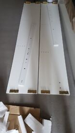 Brand new pair of wood panels never used and sent in error