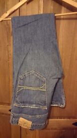 MENS HOLLISTER JEANS 34 W