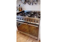 Smag free-standing 90cm range cooker and extractor hood.