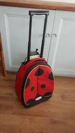Kids Samsonite Ladybird Suitcase