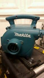 Makita hoover and blower