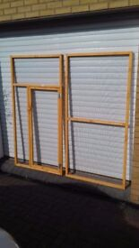 aviary panels 6ft x 3ft all new unused good quality planed treated timber and 1inch x 1/2inch mesh