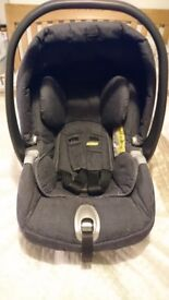 Baby car seat and surefix stand