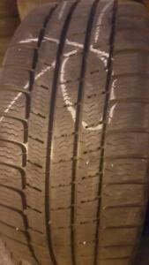 4 PNEUS HIVER - MICHELIN 255 40 18 / 235 40 18 - 4 WINTER TIRES