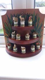 Scottish direct 1988 woodland thimble collection