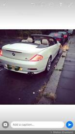 SELLING MY M SPORTS BMW 630i CONVERTIBLE- BLUETOOTH- SAT NAV- AUTO- TWIN TURBO - SPECIAL EDITION -