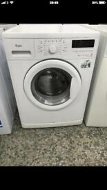 Whirlpool washing machine 8kg 1400rpm very nice 4 month warranty free delivery and installation