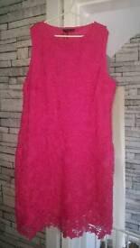 Lace dress size 16 new