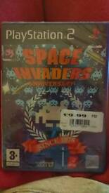 SEALED PS2 game - Space Invaders Anniversary