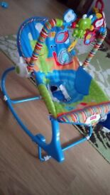 Rocker and chair Fisher Price