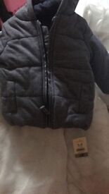 Baby 3-6 month jacket new with tags