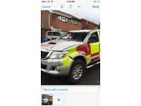 Toyota Hilux for sale demange not recordedring for more details all part aviable hpi clear
