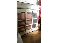 old heavy kitchen cabinet top /bookshelf