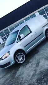 VW Caddy Highline.