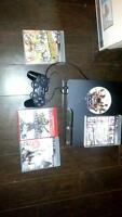 Ps3 80gb with a few good games