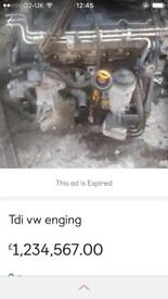 1.9tdi engine all parts for sale