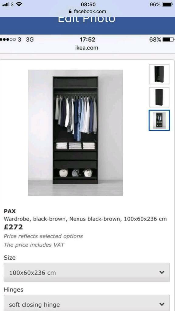FREE IKEA pax wardrobe - getting rid of due to house move