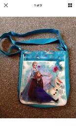 Frozen bag. New
