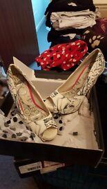 Iron fist heels size 6