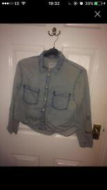 Primark size 10 denim shirt