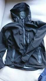 Men's XL soft shell waterproof jacket, excellent condition