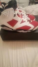 Jordan 6 Carmine UK9