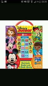 NEW Disney junior Electronic Reader 8 book set