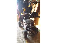 Ride on golf buggy good working order forward and reverse gears. Comes with two spare batteries