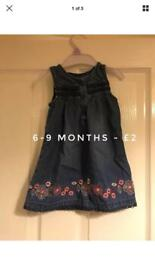 Baby girl 6-9 Months Clothes