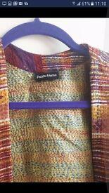 Pure Silk Shawl Jacket - Brand New One Size