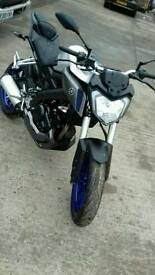 Yamaha mt 125 2015