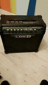 Line 6 spider 3 15w but is really quite loud
