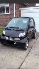 Black Smart Car