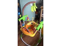 Excellent condition (hardly used) Mothercare baby bouncer/ play frame