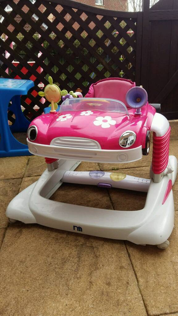 b4c93f50a Mothercare baby walker bouncer and stroller 3 in 1