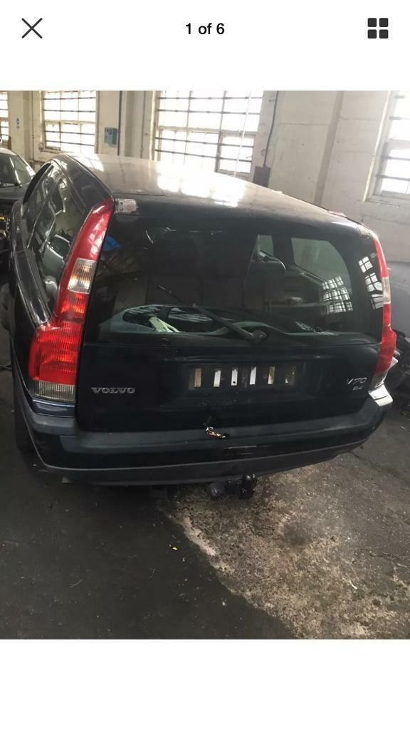 VOLVO V70 2.4 PETROL BREAKING - WINGS/BUMPERS/DOORS/ENGINE ETC CAN DELIVER