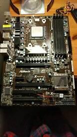 Asrock 970 Extreme 3 Motheboard with AMD Phenom II 955 Black Edition