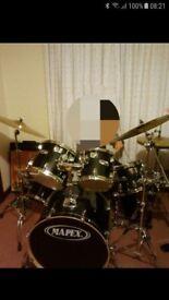 Mapex M-Birch Series 6 Piece Drum Kit in Black