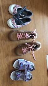 Clark's girls shoes