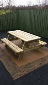 6' Traditional Picnic Tables