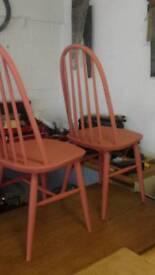 Windsor Quaker chairs