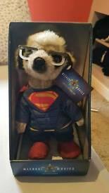 Sergei Superman Meerkat toy