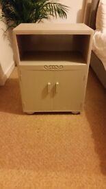 Vintage upcycled bedside cabinet £40 ONO