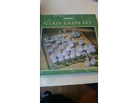 Glass Chess Set by Maxim