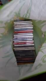 Bag full of CD's appx 27
