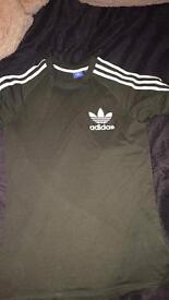 Adults Dark Green Adidas Tracksuit